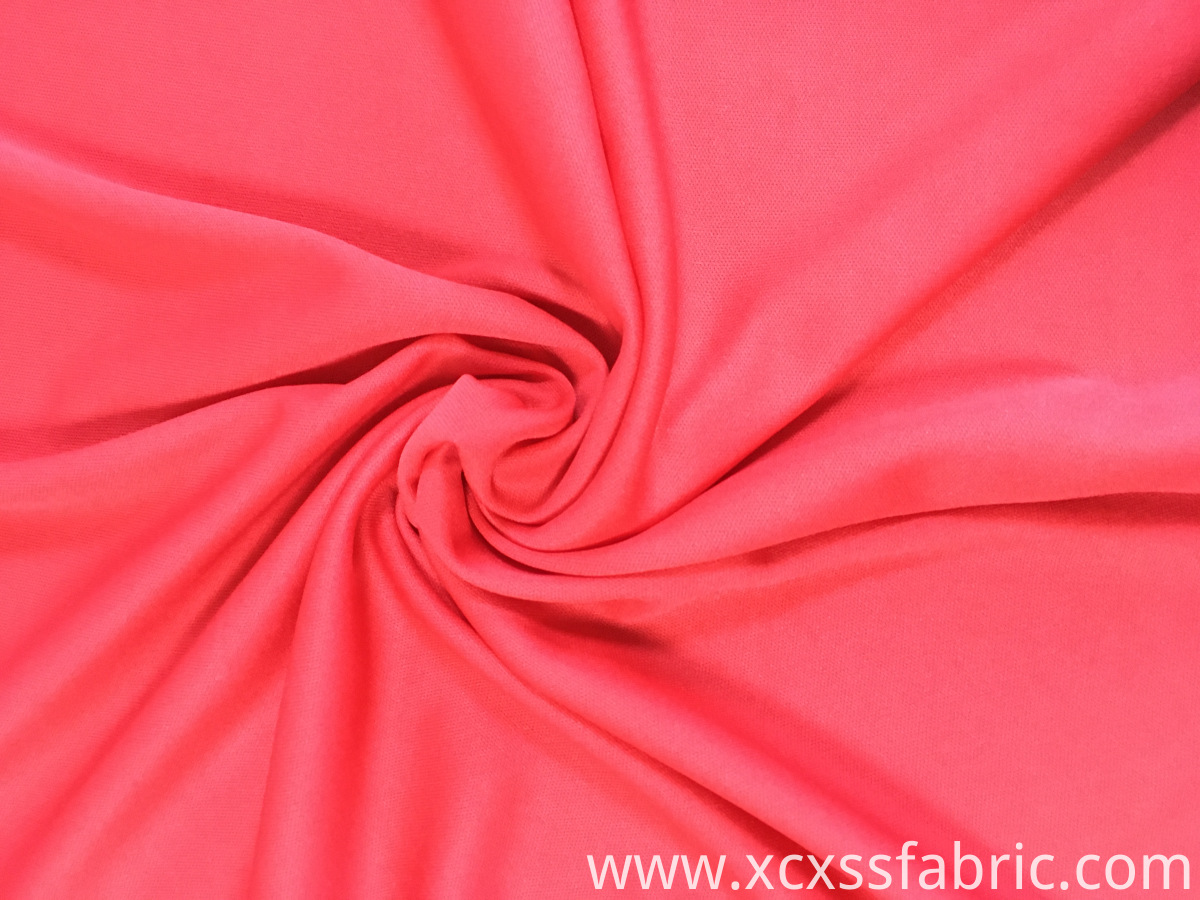 cheap colorful 100% polyester dyed knitted interlock fabric