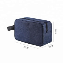 Custom Logo Promotional Cheap Good Quality Plain Cosmetic Bag For Men