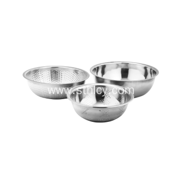 High Quality Three-piece Stainless Steel Basin