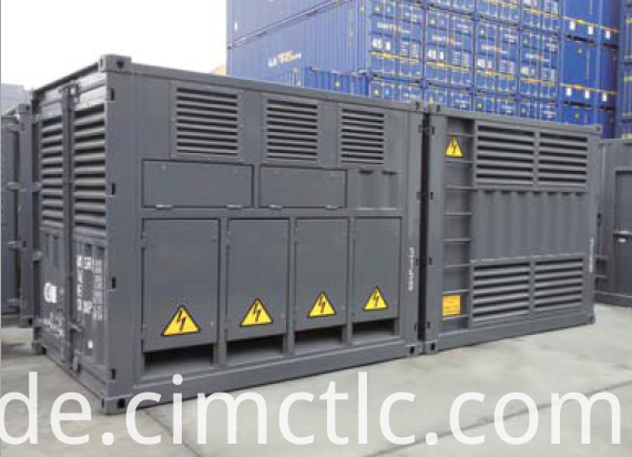 Transformer Container Integrated Type
