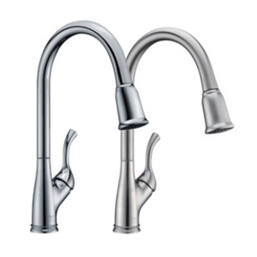 Modern Design UPC Single Pull-Down Kitchen Faucet