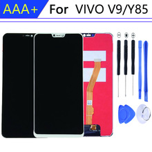 For vivo Y85 LCD v9 display in Mobile Phone LCDs Touch Screen v9 youth pantalla 10-Touch Digitizer Assembly Parts Repair Parts