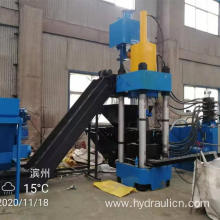 Aluminum File Dust Briquette Machine with Square Block