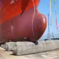 Fishing Ship Used Inflatable Airbag for Boat Moving