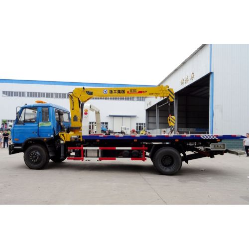 Brand New DFAC Road Wrecker Truck Mounted Crane