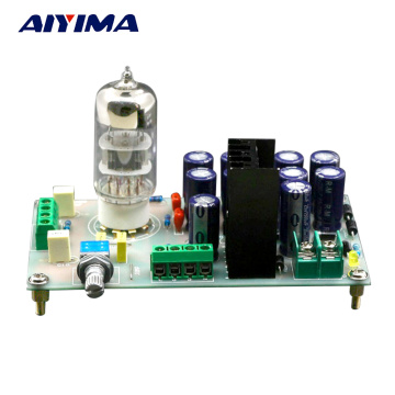 AIYIMA AC12V 6N3 Tube Pre Amplifier AMP Buffer Bile Preamp For Filtering Amplifiers Audio Signal DIY