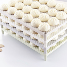 Kitchen Storage Tray Multifunctional No-Stick Dumpling Buns Pastry Holder Rack Dinnerware Drain Pallet Kitchen Gadgets cuisine