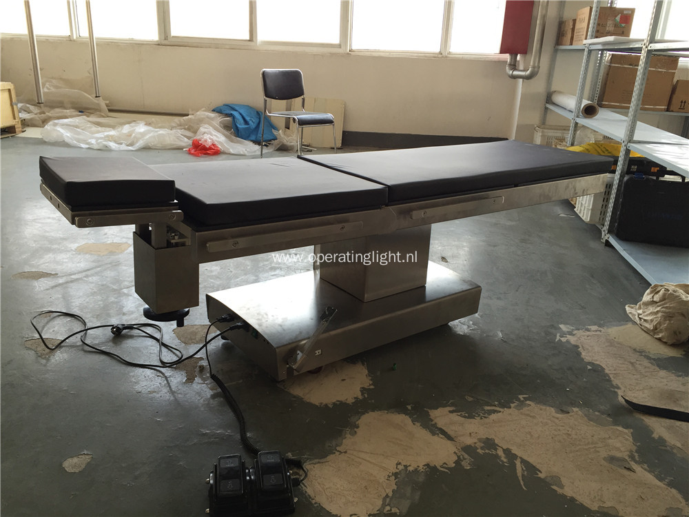 Eye surgery electric ophthalmic operating tables