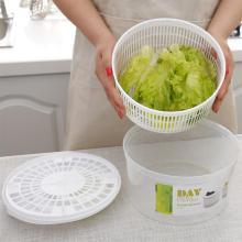 Vegetable Dryer Salad Spinner Fruit Basket Vegetable Washing Basket Storage Drying Machine Kitchen Tools for home kitchen