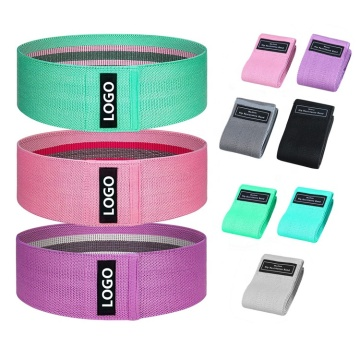 Wholesale Private Label Elastic Fitness Resistance Bands