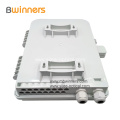 Pole Wall Mounted Outdoor FTTH Fiber Optical 16 Port Cores PLC Splitter Terminal Distribution Box