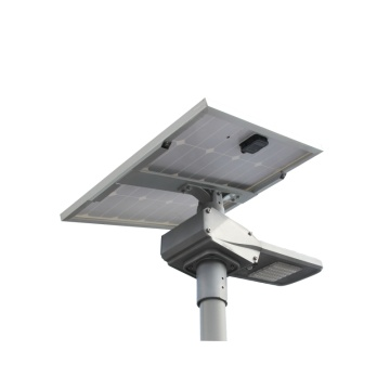 80W solar LED street light with solar panel