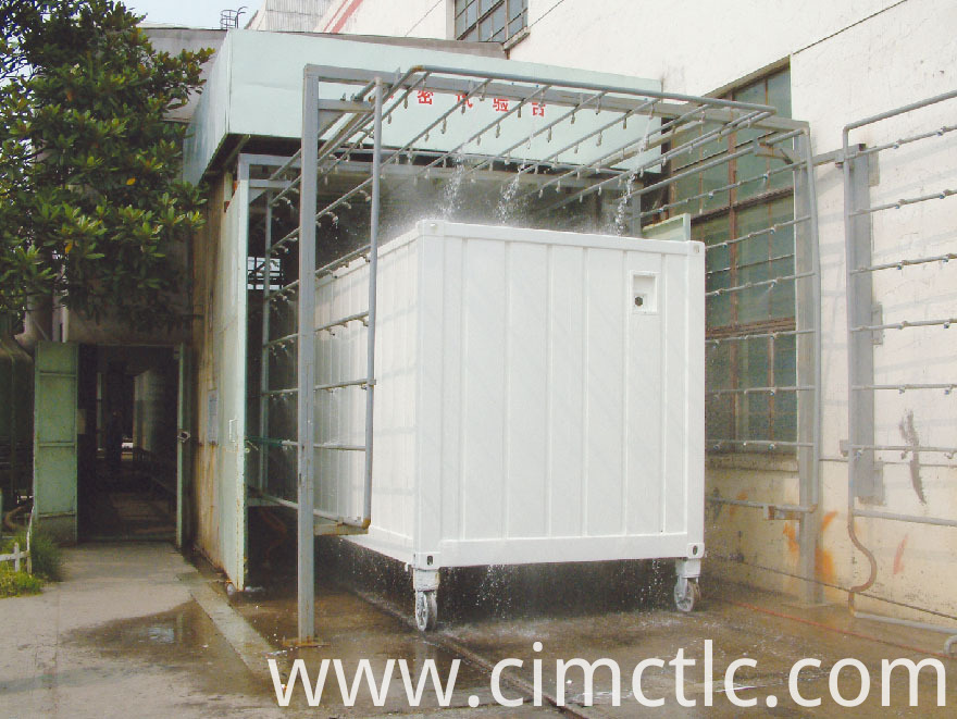 water tightness test for Solar Container Integrated Type