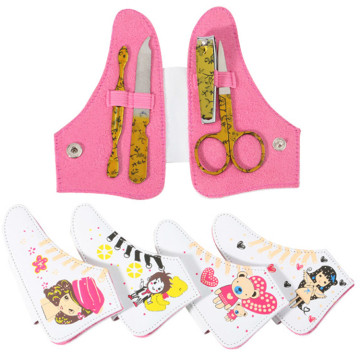 2020 New Style Shoes Shape Manicure Set