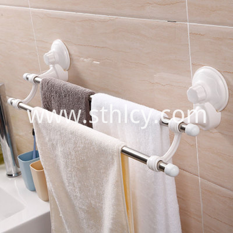 Stainless Steel Double Towel Rack