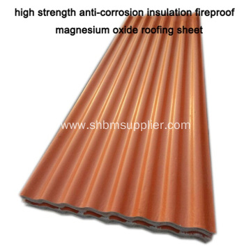 MGO RoofingSheet Better Than Galvanized Steel Roof Sheet