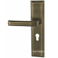 Zinc alloy door handles for home decoration