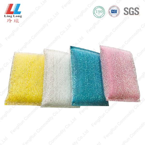 Squishy alluring absorbent cleaning sponge