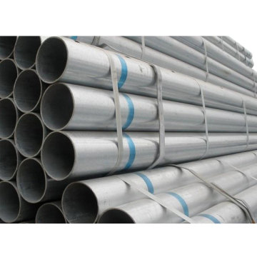 Tensile Strength Galvanized Gi Erw Round Steel Pipe