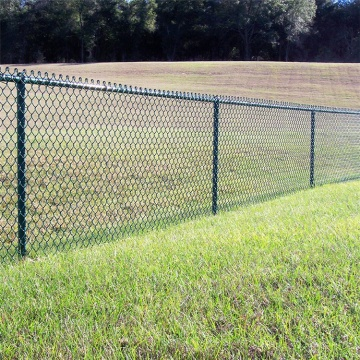 Used Security Chain Link Fence for Sale Factory