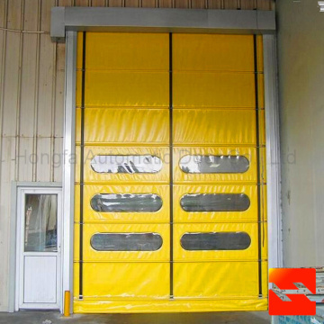 High Speed Folding Up Roller Shutter Door