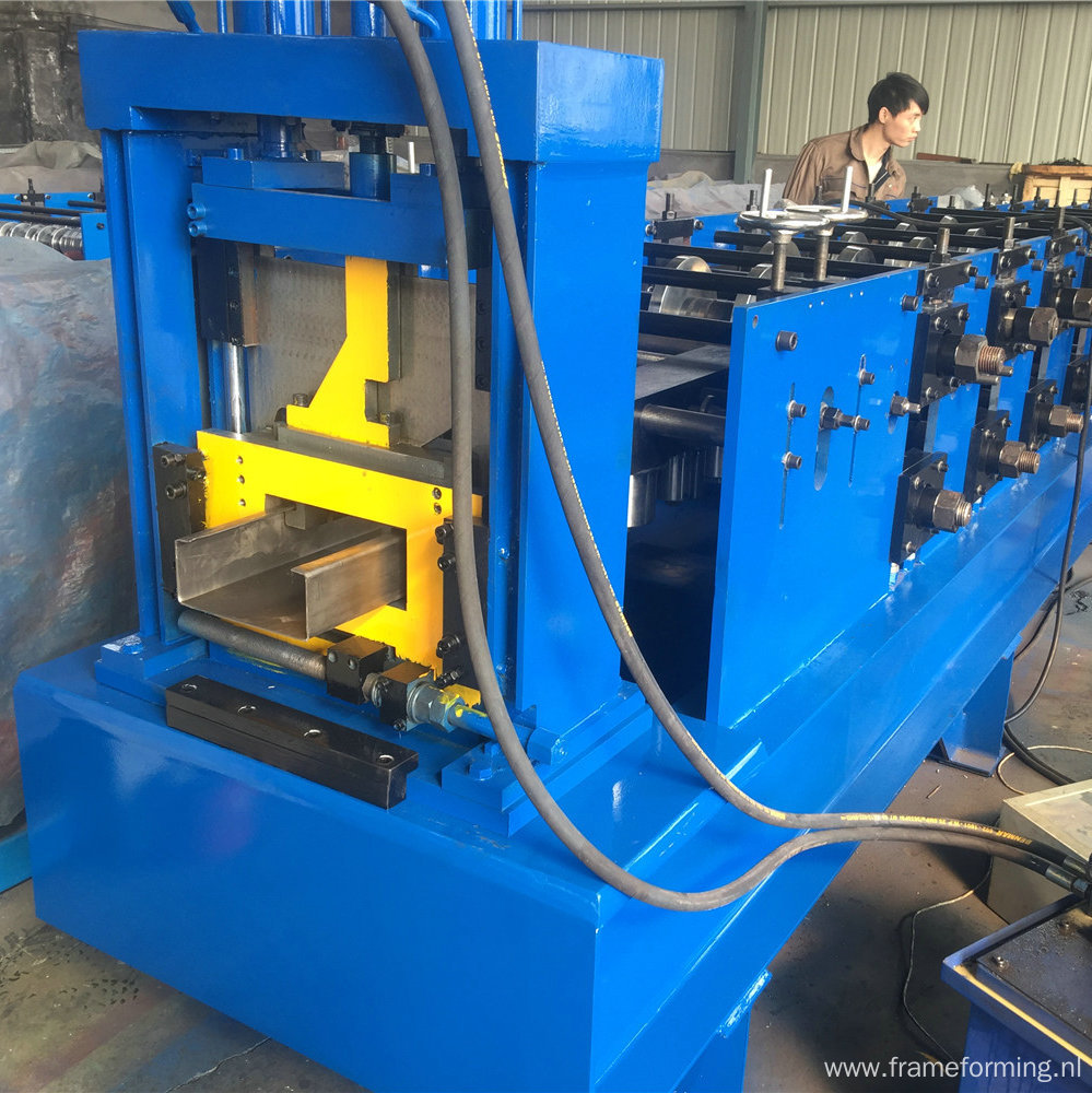 80-300 width C channel roll forming machine for building