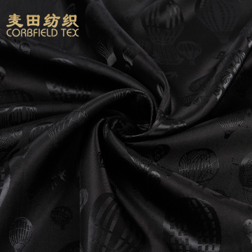 100 polyester suit lining block print fabric