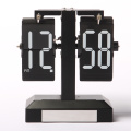 Black Light Flip Clock For Decor