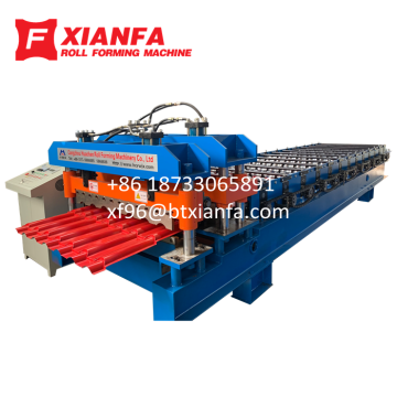 Bamboo Metal Roofing Forming Machine
