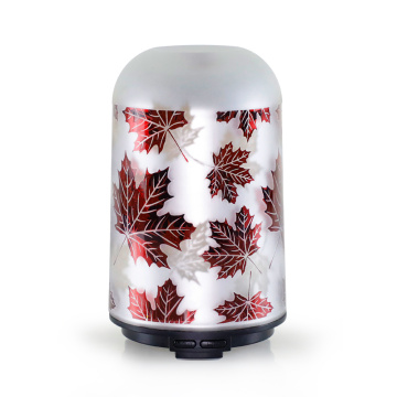New Maple Leaf Glass Deffuser Aroma Diffusers Wholesale