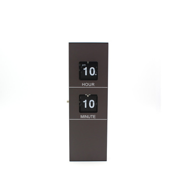 Small Size Cuboid Wooden Flip Clock