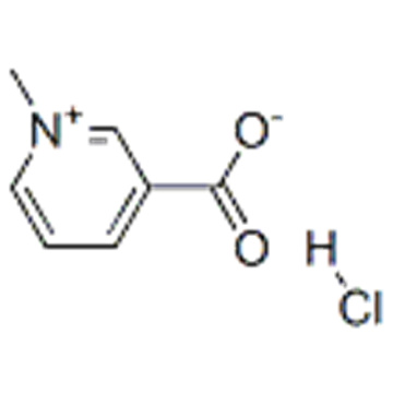 Pyridinium,3-carboxy-1-methyl-, chloride (1:1) CAS 6138-41-6