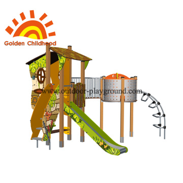 Climber Playhouse Outdoor Playground Equipment For Children
