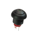 Waterproof  Round Cap 12mm LED Light Switches