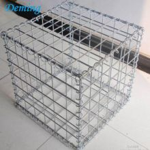 Galvanized Steel Wire Stone Cage Welded Gabion Cages