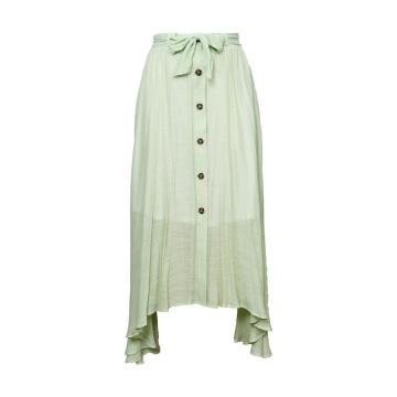 2020 Women Linen Cotton Long Skirts