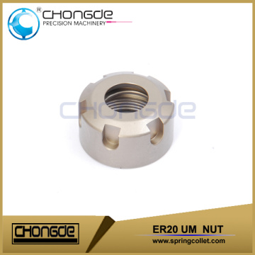 Ultra precision high durability ER20UM nut