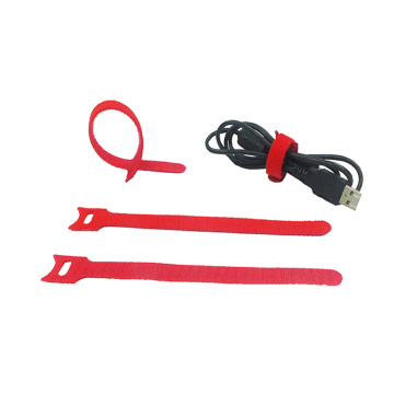 Hook Loop Cable Tie Strap For Cable Management