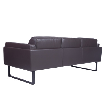 202 OTTO Dark Brown Leather Sofa