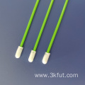 Green Round Head Sample Collecting Foam Swab