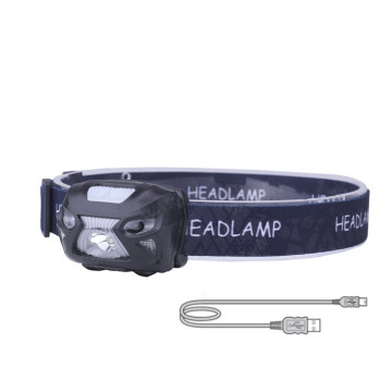 USB Rechargeable Led Headlamp for Camping
