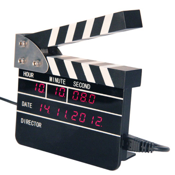 Mini Movie Clapper Wecker