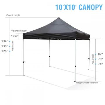 Custom waterproof go outdoors grill gazebo awning