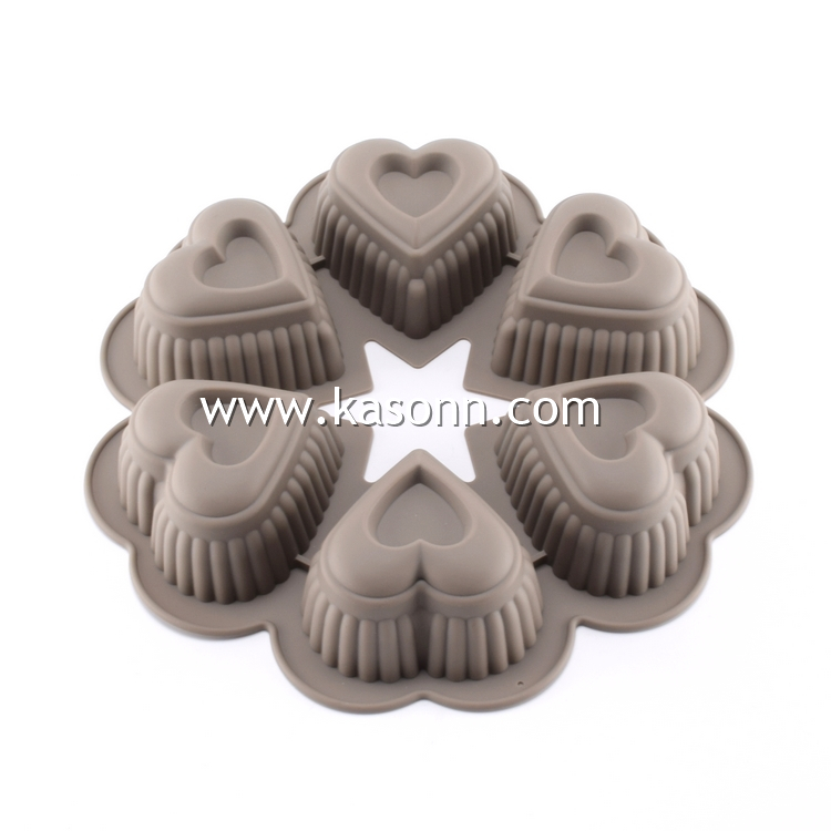 Silicone Heart Mold Pan