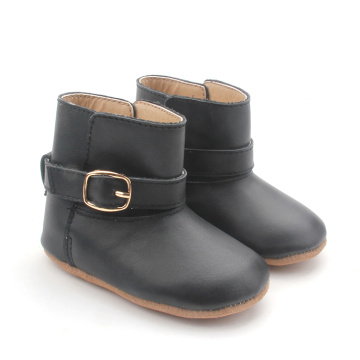 High Quality Prewalker Leather Winter Baby High Boots