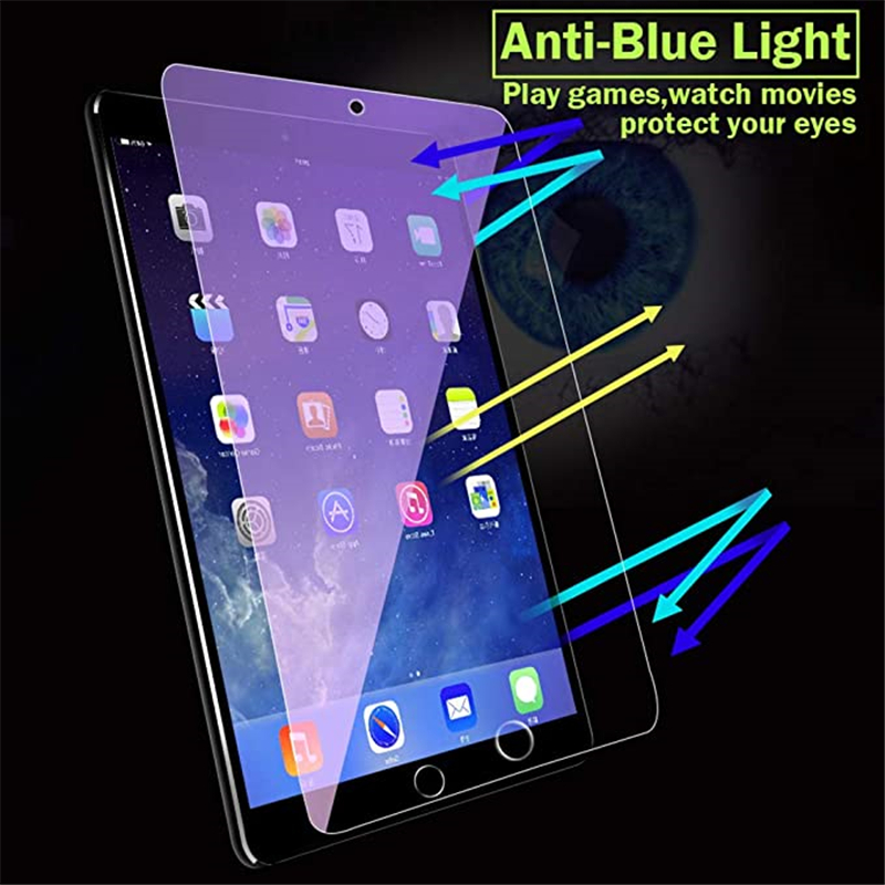 Anti Blue-ray Light Glass Protector Tablet Cover Case for Apple IPad 10.2 Inch 7 7th Generation I Pad Air 2 3 Pro 11 2020 Fundas