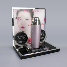 Custom Acrylic Skincare Cosmetic Display Stand