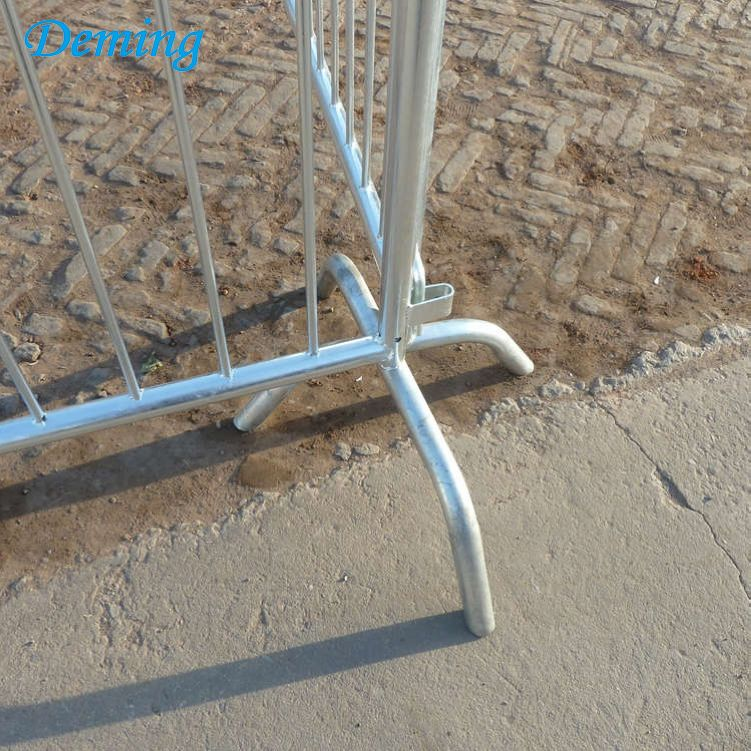 Removable Heavy Galvanized Steel Metal Safety Barrier