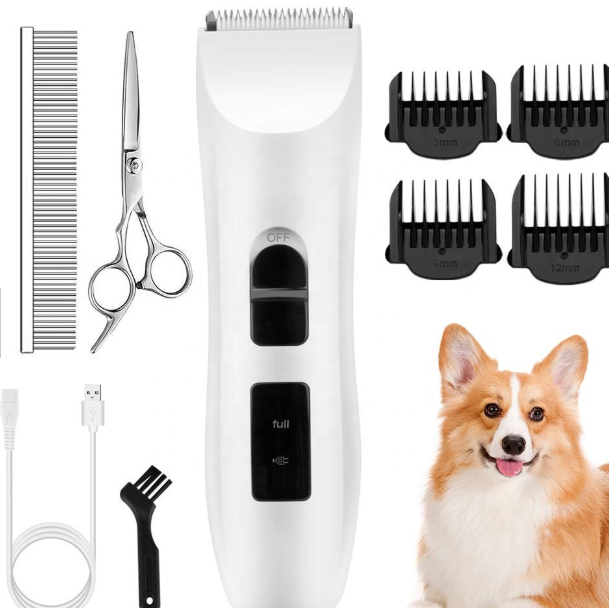 USB Rechargeable Cordless Pet Grooming Set