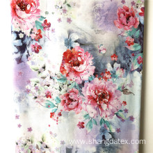Soft And Comfortable Rayon Semi Digital Printed Fabric